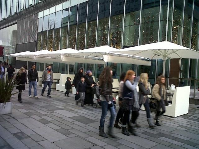 Big Restaurant Umbrellas