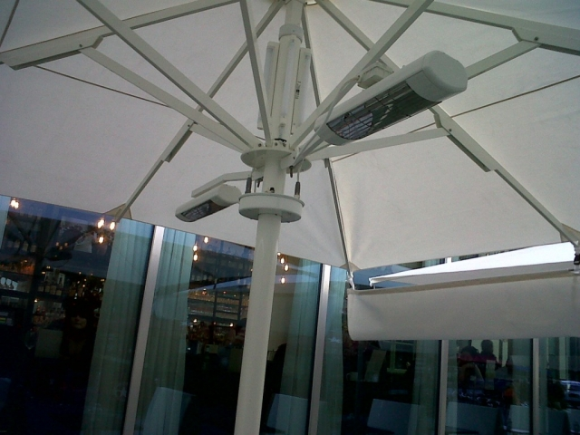 Heated Umbrellas & Parasols