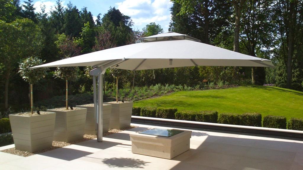 Large 4m Garden Umbrella