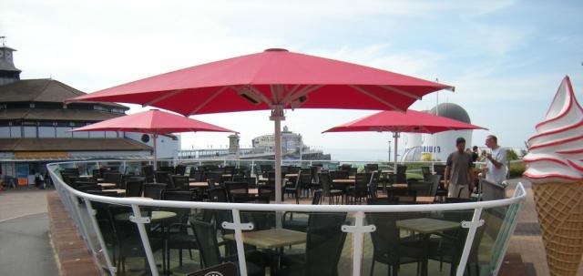 Titan Centre Pole Umbrella
