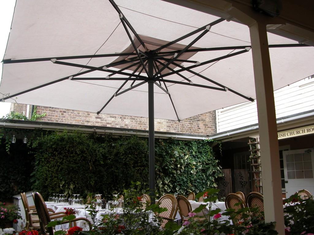 Large Courtyard Umbrella