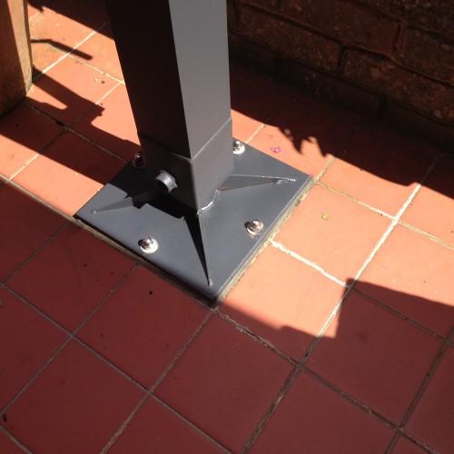 Bolt Down Deck Plate Base