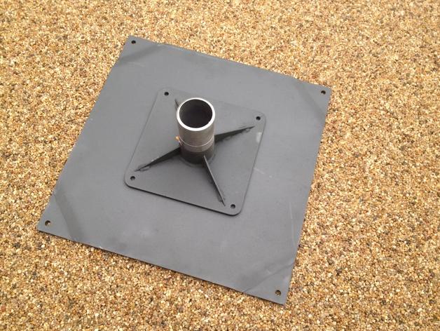Bolt Down Base for Umbrellas & Parasols