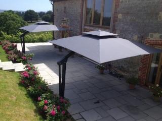 Large Garden Parasols UK