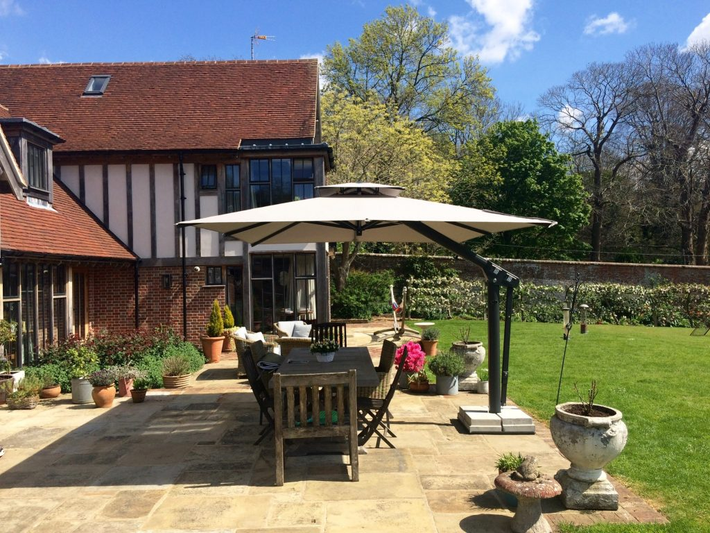 Large Garden Umbrella - Tunbridge Wells