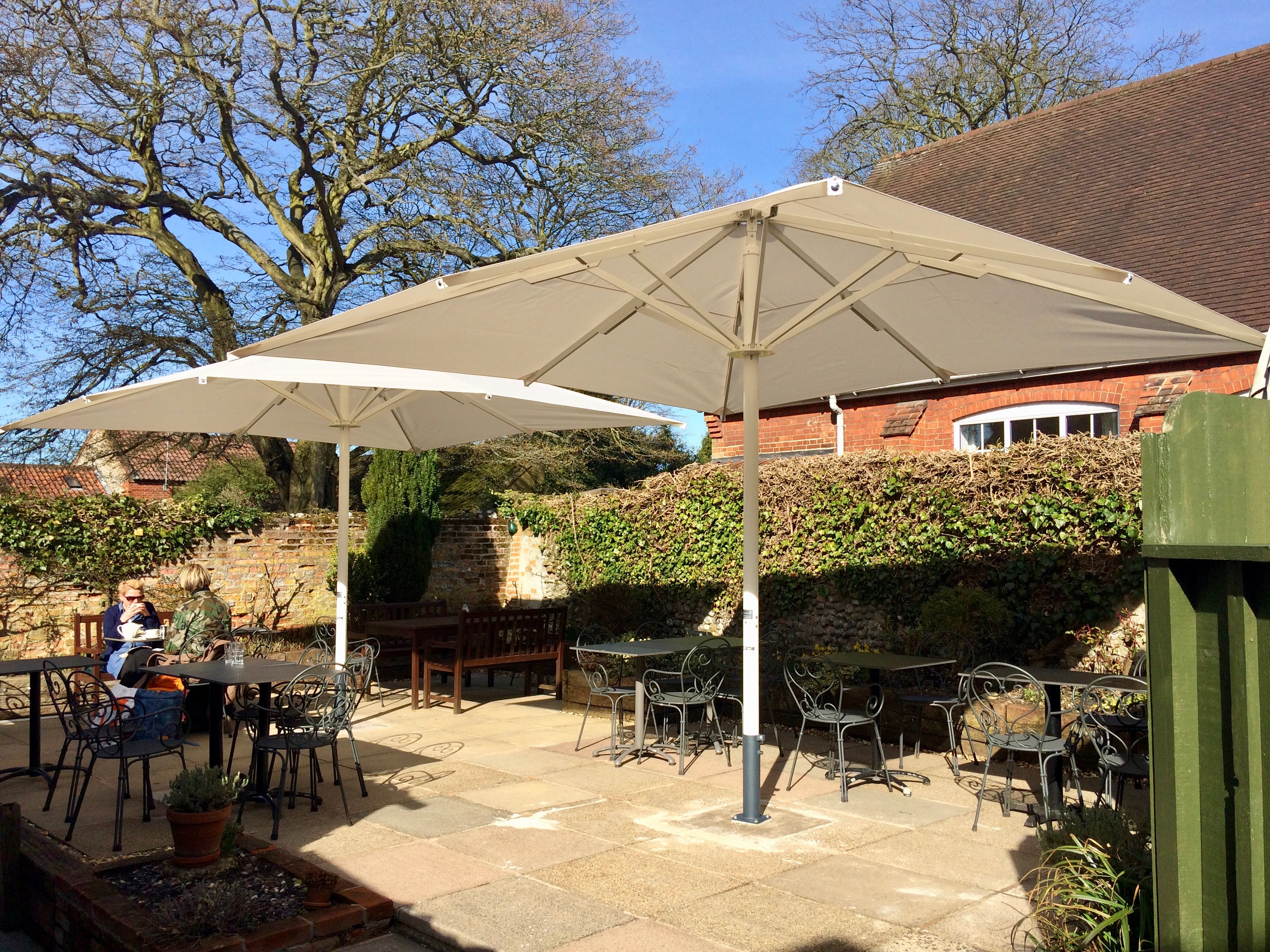 Large Cafe Garden Umbrella